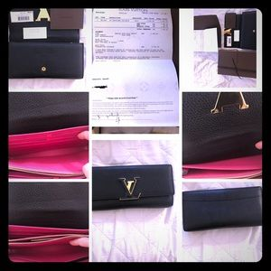 Clutches leather Louis Vuitton